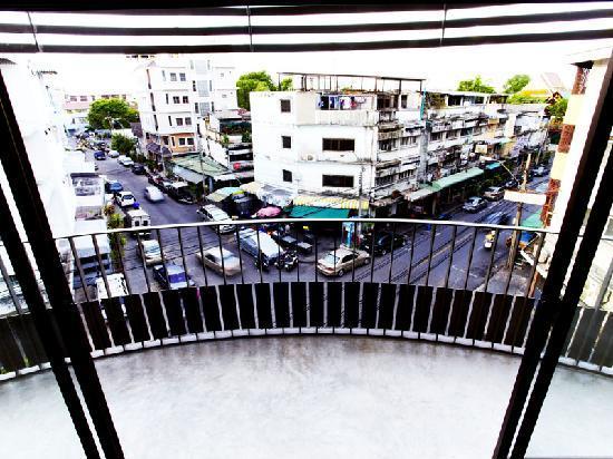 The Warehouse Bangkok: View from corner room