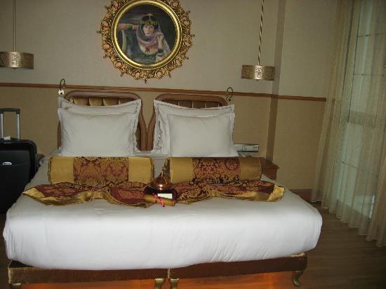 Hotel Sultania: literie