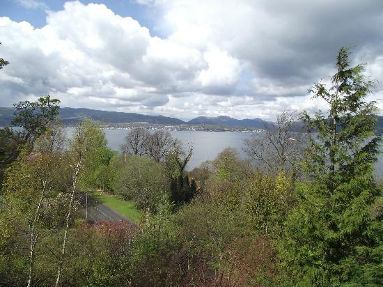Castle Levan Bed and Breakfast: View from battlement