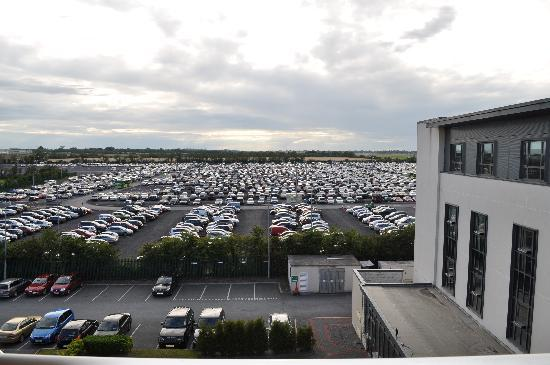 Carlton Hotel Dublin Airport: View from balcony