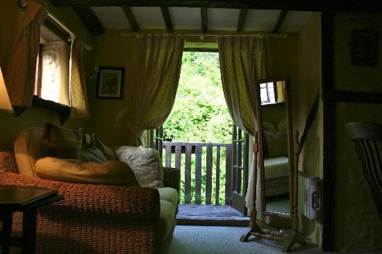 Ty Gwyn Hotel: Room 9b view onto balcony
