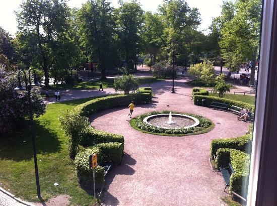 Grand Hotel Lund: View from room