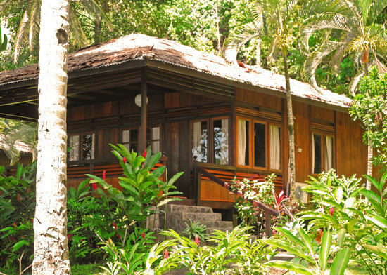 Kungkungan Bay Resort: Our Chalet