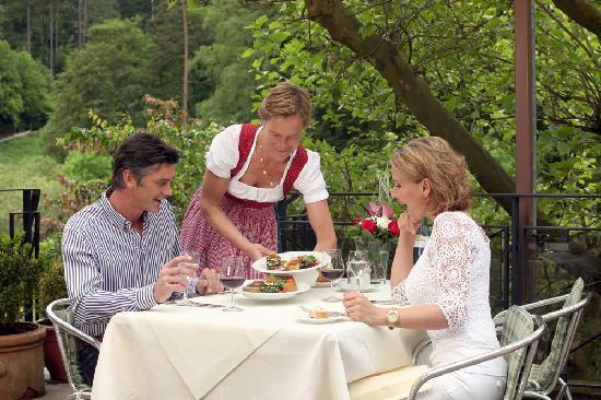 Ringhotel Mönch's Waldhotel: Nice terrace