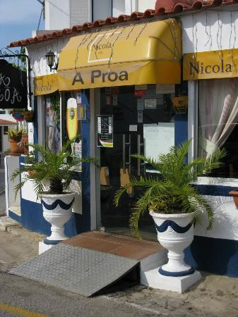 Manta Rota, Portugal: A Proa - lovely little restaurant - great owners