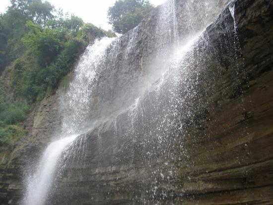 Spencer Gorge Conservation Area: nature's shower
