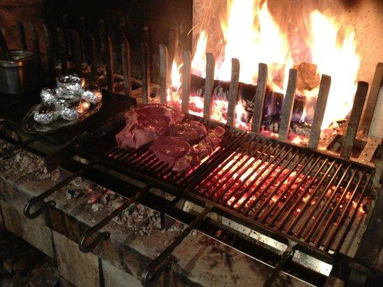 La Garaudière : Flame Grilled Rib Eye