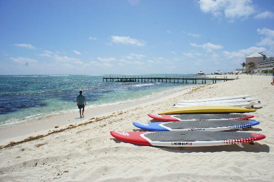 White Sand Water Sports: Nothing beats a lazy day of watersports on the beach.