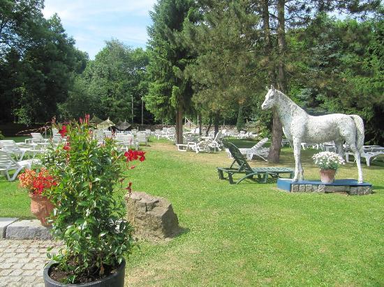 Saunadorf Roetgen-Therme : Thermengarten