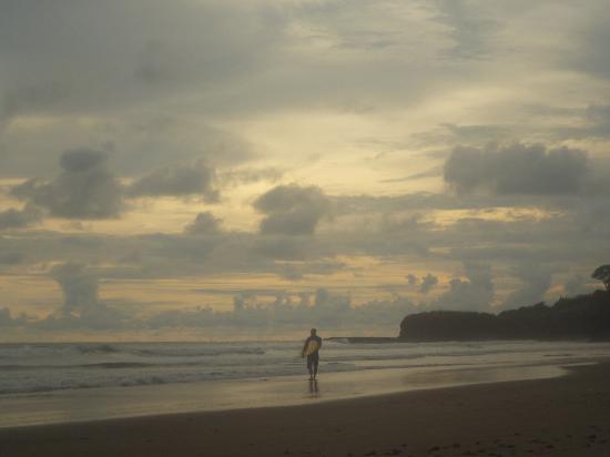 Hotel Popoyo: playa e surfistas