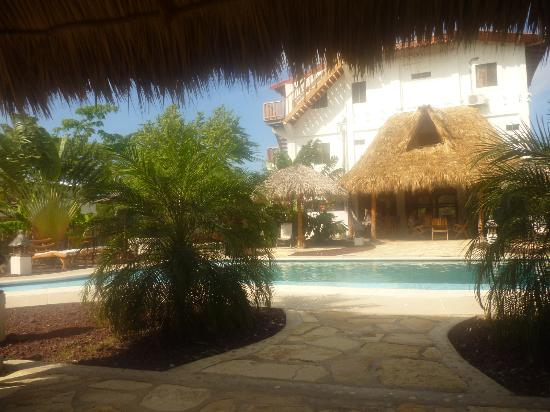 Hotel Popoyo: zona piscina