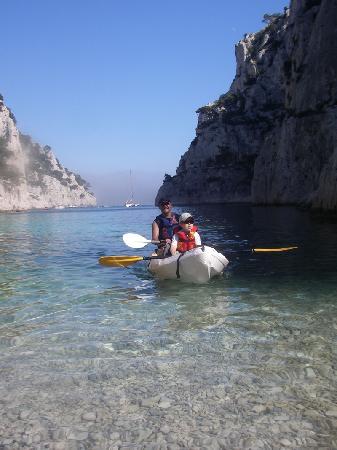 Destination Calanques Kayak Cassis: le kayak une activité pour tous