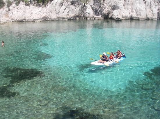 Destination Calanques Kayak Cassis