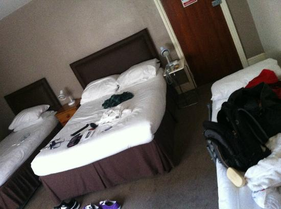 Swinton Hotel: choice of beds