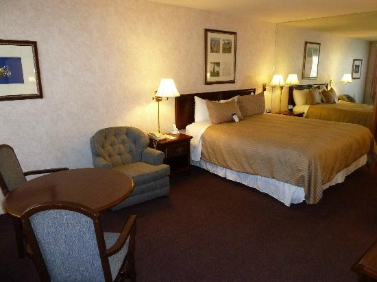 Best Western Plus Big America: King bed room