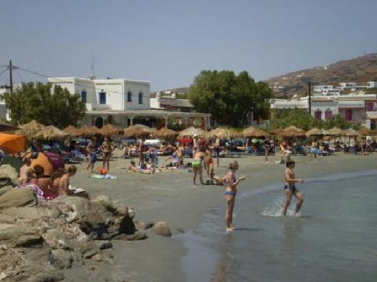 Zalonis Tinos Apartments : distance from beach 10M .