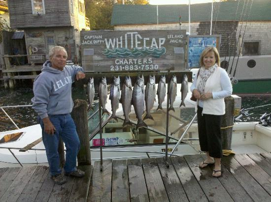 Whitecap Charters Fishing: Catch of the day with Captain Jack