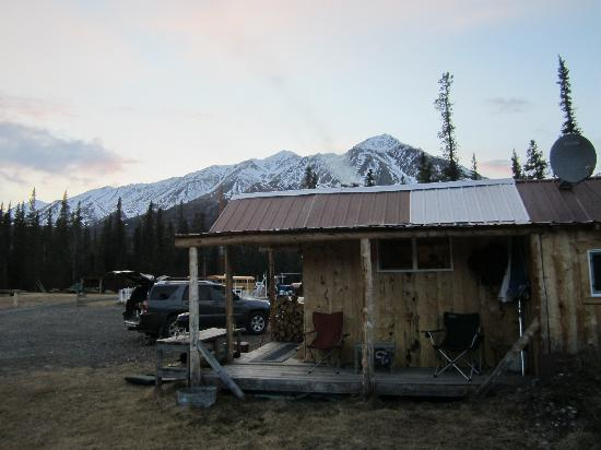 Adventure Denali: beach cabin