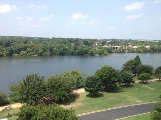 Holiday Inn Austin-Town Lake: view from the rooftop pool