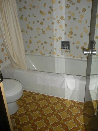 Cherry Lane Motor Inn: 70's style bathroom