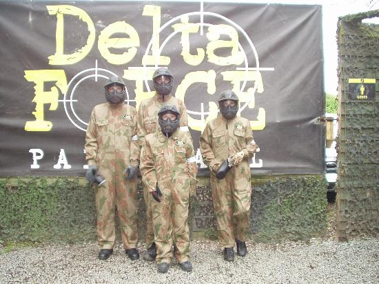 Delta Force Paintball Lichfield: All kitted out