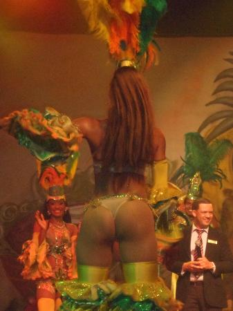 Dreams La Romana Resort & Spa: Spectacle tropical