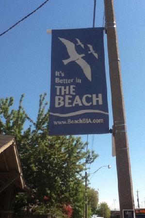 Toronto Beach: flag