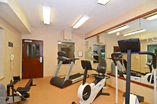 Best Western Plus Park Place Inn & Suites : Fitness Center