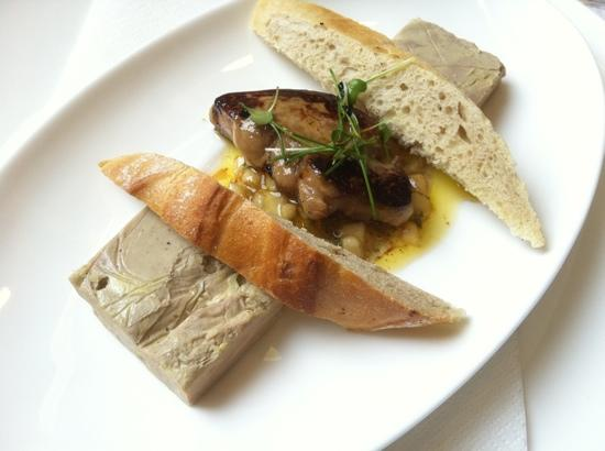 Macok Bistro and Wine Bar: goose liver