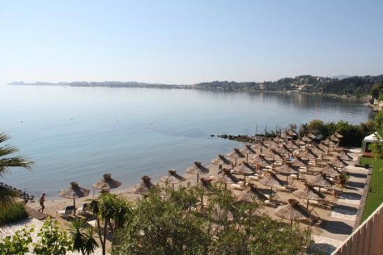 Kontokali Bay Resort and Spa: plage de l'hôtel