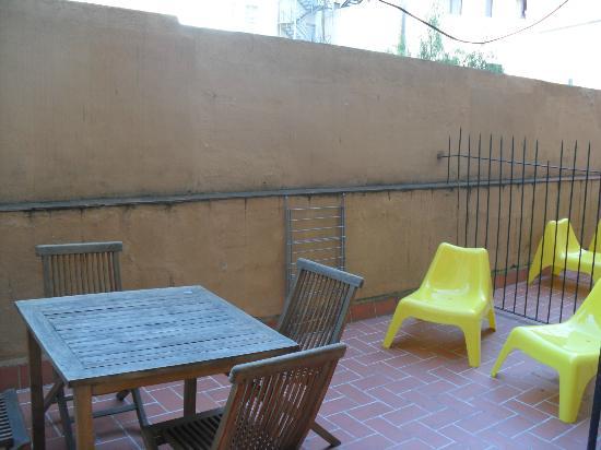 Happy Apartments: terrace