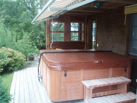 Silvi's Dream Catcher Inn Guesthouse: Outdoor Hot tub!
