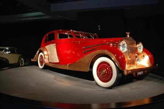 "Blackhawk Museum : 1937 Rolls-Royce ""Copper Kettle"""