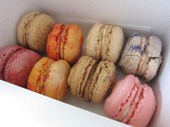 Parisian Macarons from the Fillmore Bakeshop