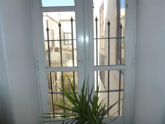 Casa Mia: view to the courtyard