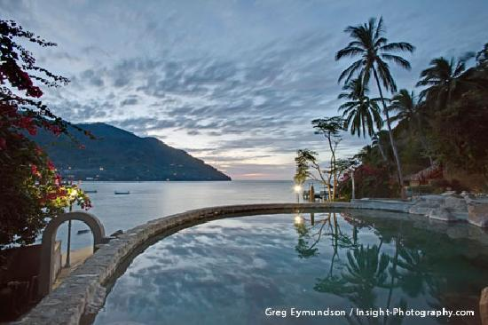 Yelapa, Mexiko: View by the Pool