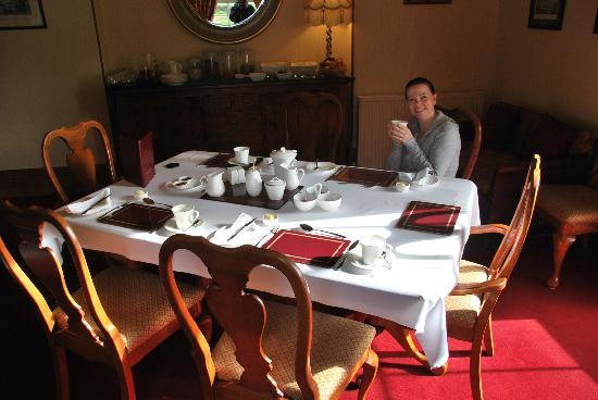 Fochabers, UK: the dining room, very high standard!