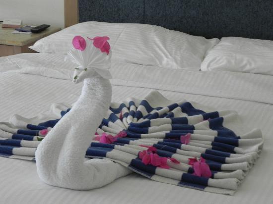 Movenpick Resort Taba : Сюрпризы от персонала
