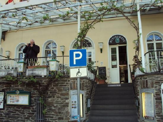 Union Hotel Cochem: front  of hotel