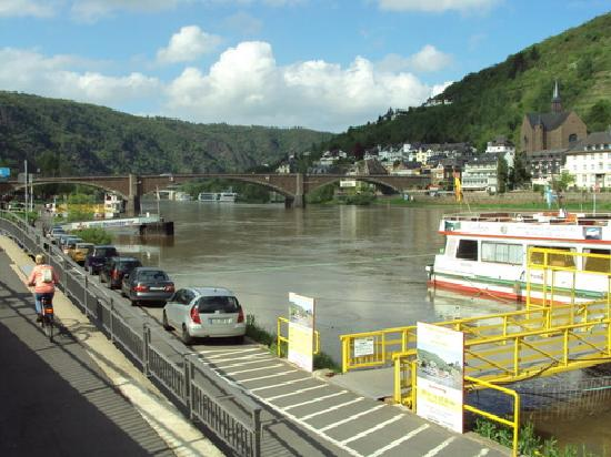 Union Hotel Cochem: view over river