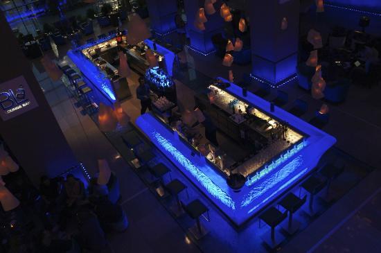 Radisson Blu Hotel Bucharest: The ice bar downstairs.  Trippy.
