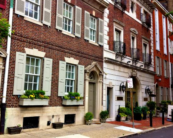 Rittenhouse 1715, A Boutique Hotel: View from the street