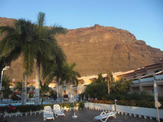 Jardin del Conde: Blick vom Balkon
