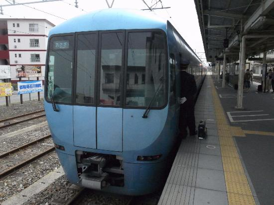 Odakyu Romance Car: 御殿場駅のあさぎり号