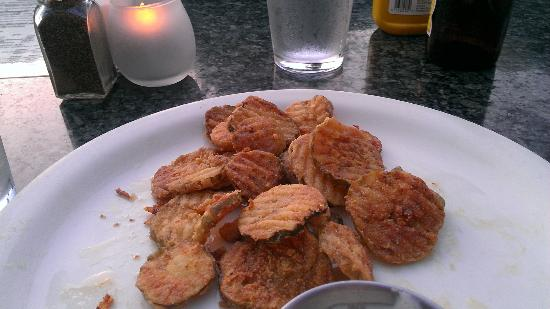 The Brewhouse: Fried Pickles