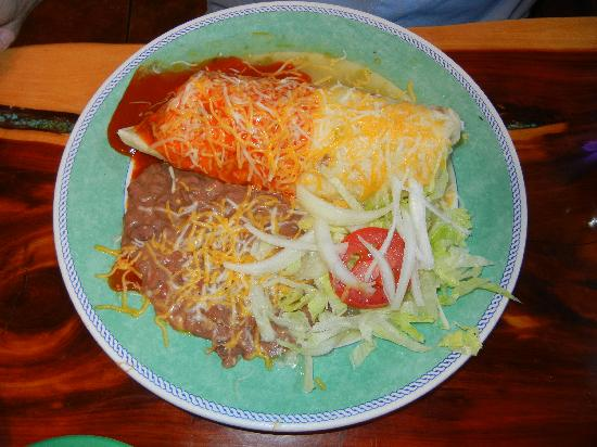 Pena's Place: Smothered Breakfast Burrito
