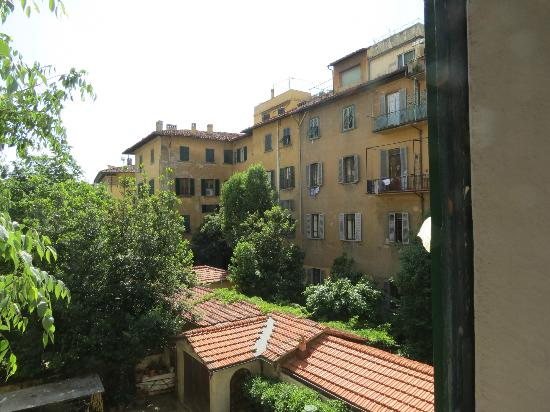 Hotel Giglio: View from our window.