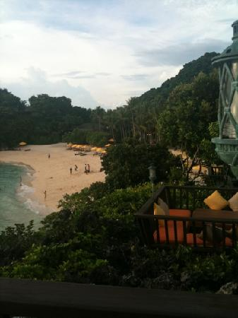 Solana at Shangri-La's Boracay Resort and Spa: view of the beach