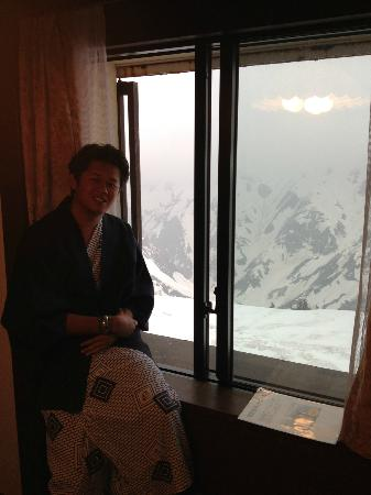 Tateyama Kogen Hotel: great view.