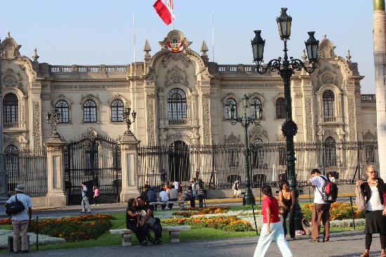 Centro histórico de Lima: casco histórico